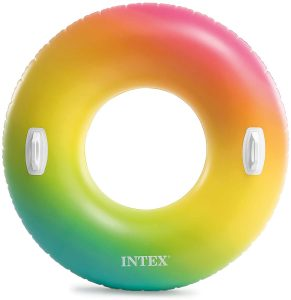 Flotador hinchable redondo de intex
