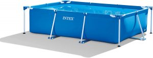 Piscina hinchable rectangular Intex sin depuradora